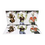 Zombie Style Paper Targets 3 Styles 2ea