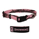 "Adjustable Dog Collar, RT Pink,18""-26"""