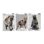 Zombie Vicious Animal Pack 12X18 (6 Pack)