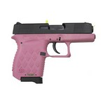 9mm Auto Blk/Pink Poly Frame 6+1