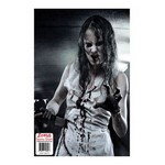 Zombie Shooting Tgt-Girl Bloody Knfe-10pk