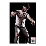 Zombie Shooting Tgt-Guy Missing Face-10pk