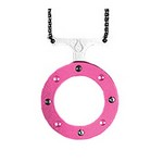 Cyclops Necklace Pink