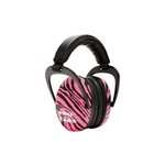 Pro Ears Ultra Sleek Pink Zebra