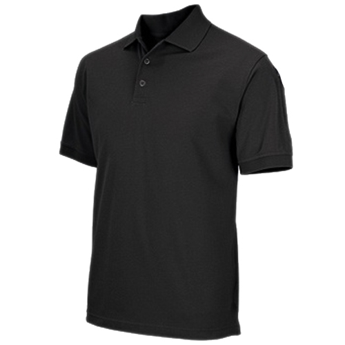 5.11 Inc 5.11 Inc Professional Polo, Short Sleeve Black, Large 41060-019-L