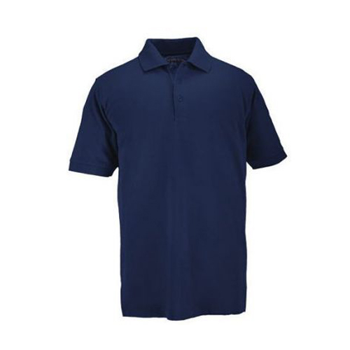 5.11 Inc 5.11 Inc Professional Polo, Short Sleeve Dark Blue, Large 41060-724-L