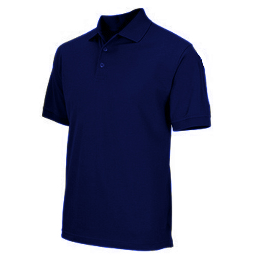 5.11 Inc Professional Polo, Short Sleeve Dark Blue, Medium