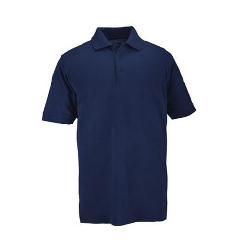 5.11 Inc 5.11 Inc Professional Polo, Short Sleeve Dark Blue, XLarge 41060-724-XL
