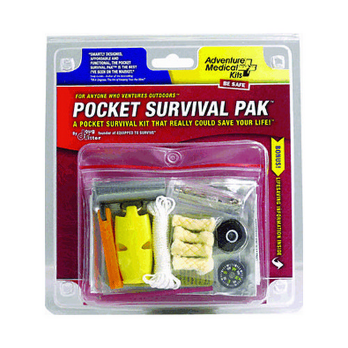 Adventure Medical Adventure Medical Pocket Survival Pak Standard 0140-0707