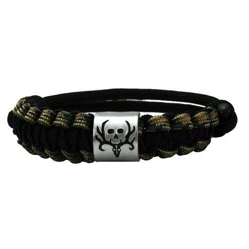 AES Outdoors AES Outdoors Bone Collector Survival Bracelet Camo/Black BC-SB-002