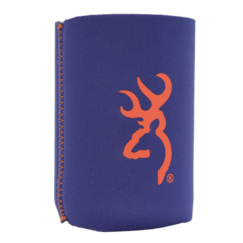 AES Outdoors AES Outdoors Browning Can Coozie Blue/Orange BR-CAN-BO