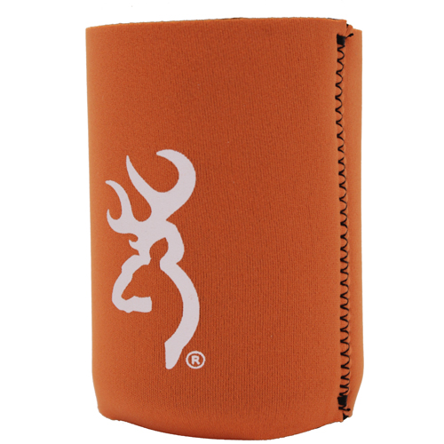 AES Outdoors AES Outdoors Browning Can Coozie Burnt Orange/White BR-CAN-BOW