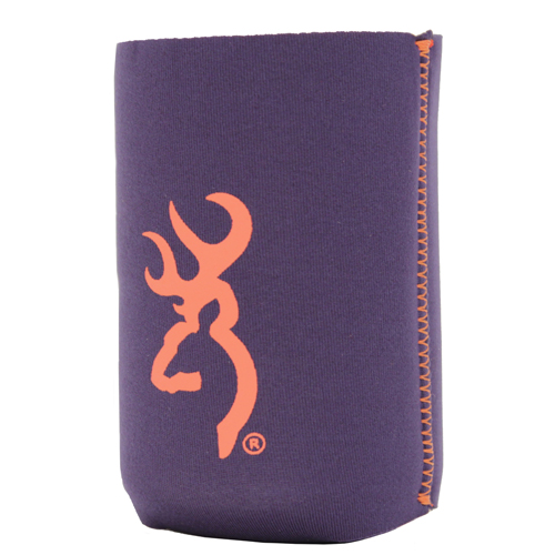 AES Outdoors AES Outdoors Browning Can Coozie Navy/Orange BR-CAN-NO
