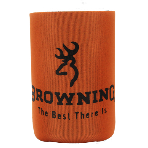 AES Outdoors AES Outdoors Browning Can Coozie Orange/Black BR-CAN-Orange