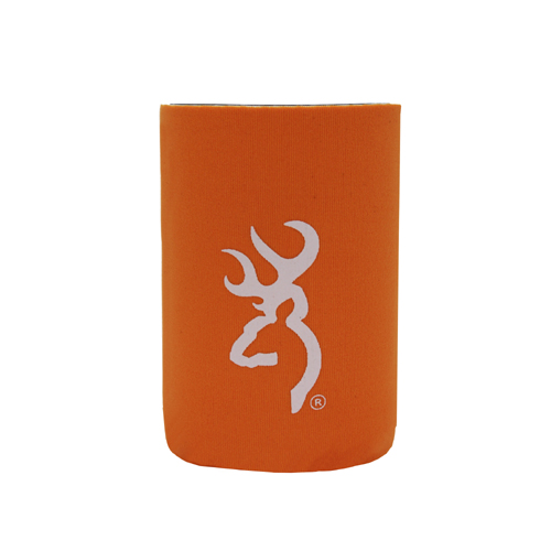 AES Outdoors AES Outdoors Browning Can Coozie Orange/White BR-CAN-OW