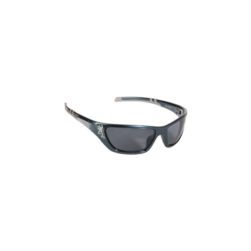 AES Outdoors AES Outdoors Browning Alpha Max Sunglasses PC Frame, Gray, Polarized BRN-ALP-001