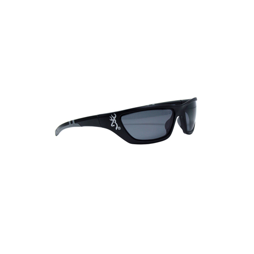 AES Outdoors AES Outdoors Browning Alpha Max Sunglasses Matte, Grey Lens, Polarized BRN-ALP-003