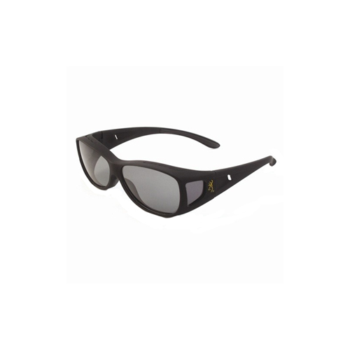 AES Outdoors AES Outdoors Browning Mini Fitover Polarized Sunglasses Grey Lens BRN-MIN-001
