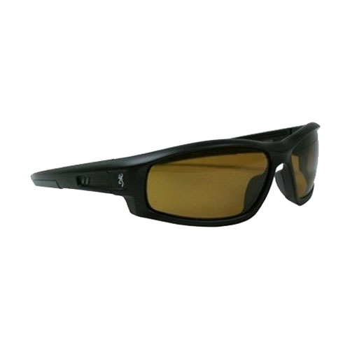 AES Outdoors AES Outdoors Browning M-Pact Sunglasses Matte Black Frame/Polarized Gold BRN-MPA-003