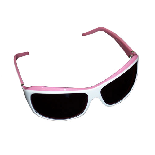 AES Outdoors AES Outdoors Browning Suzie Sunglasses, Polarized White & Pink Frame, Rose Lens BRN-SUZ-002