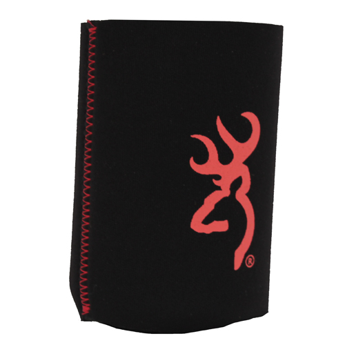 AES Outdoors AES Outdoors Browning Can Coozie Black/Red BR-CAN-BLKR