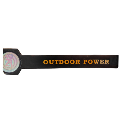AES Outdoors AES Outdoors Team Realtree Outdoor Power Bracelet Large, Black RT-PB-L-BLK
