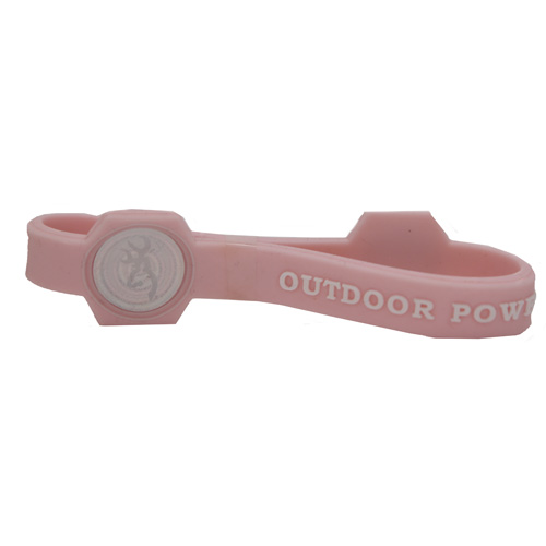 AES Outdoors AES Outdoors Team Realtree Outdoor Power Bracelet Pink, Medium RT-PB-M-PNK