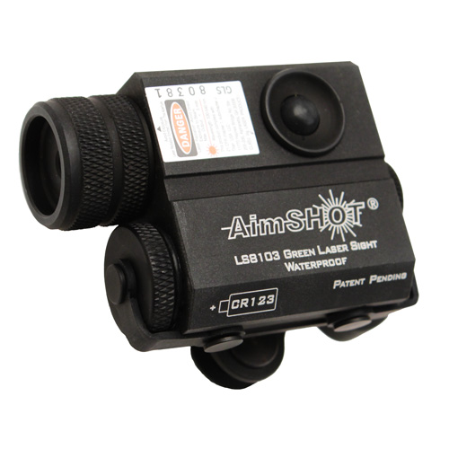 Aimshot Aimshot LS8150 Compact Green Rifle Laser w/Mount/Cord KT8103