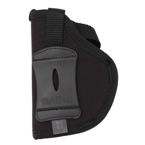 Allen Cases Cortez Nylon Pistol Holster, Black Size 8