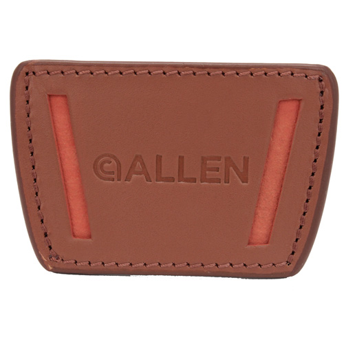 Allen Cases Allen Cases Glenwood Belt Slide Leather Holster Small, Brown 44820
