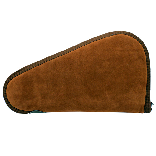 Allen Cases Allen Cases Suede Leather Handgun Case, Rust 13