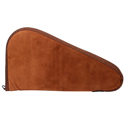 "Allen Cases Suede Leather Handgun Case, Rust 15"" 75-15"