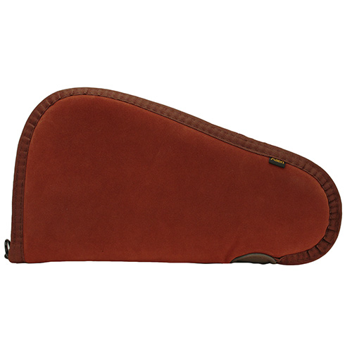 Allen Cases Allen Cases Suede Leather Handgun Case, Rust 11