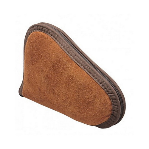 Allen Cases Allen Cases Suede Leather Handgun Case, Rust 8