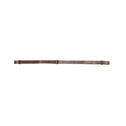 Allen Cases Allen Cases Redwater Leather Sling, Military, Brown 8170