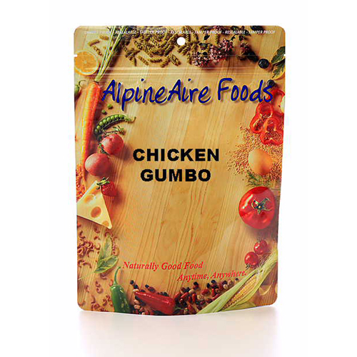 Alpine Aire Foods Alpine Aire Foods Chicken Gumbo Serves 2 10309