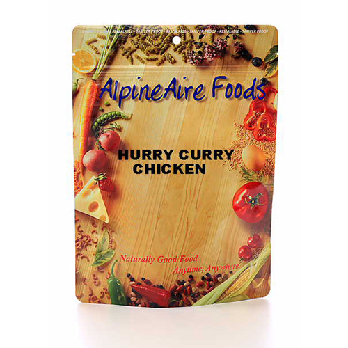 Alpine Aire Foods Alpine Aire Foods Hurry Curry Chicken Serves 2 10311