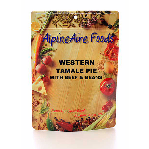 Alpine Aire Foods Alpine Aire Foods Western Tamale Pie w/Beans Serves 2 10405
