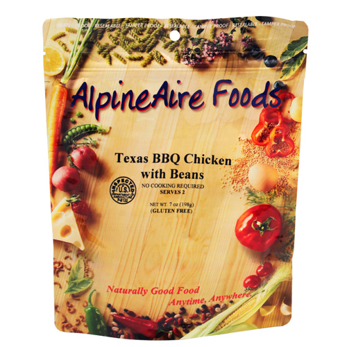 Alpine Aire Foods Alpine Aire Foods Texas BBQ Chicken w/Beans Serves 2 10406