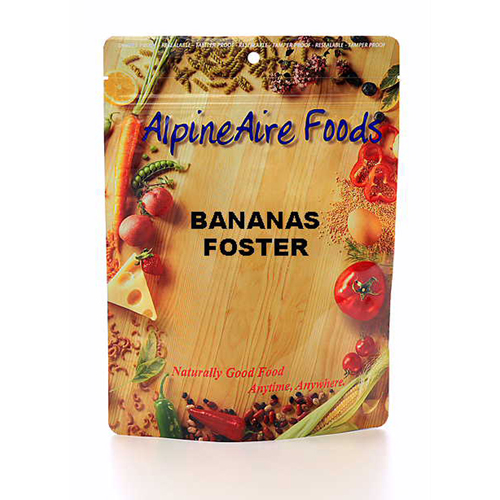 Alpine Aire Foods Alpine Aire Foods Bananas Foster Serves 2 10912