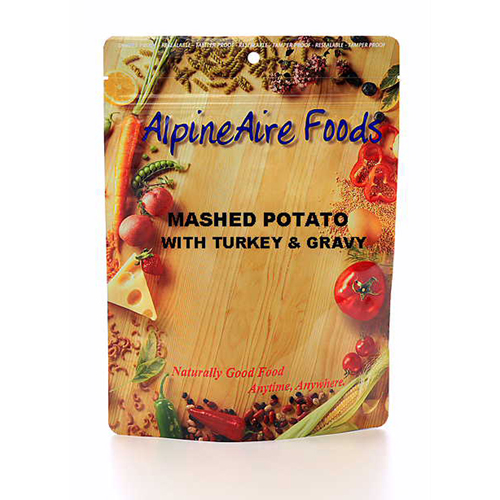 Alpine Aire Foods Alpine Aire Foods Mashed Potatoes & Gravy w/Turkey Serves 2 11402
