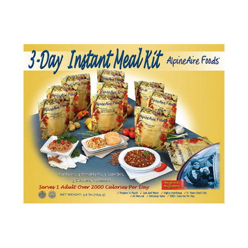 Alpine Aire Foods Alpine Aire Foods 3 Day Meal Kit (10 Pouches) 86511