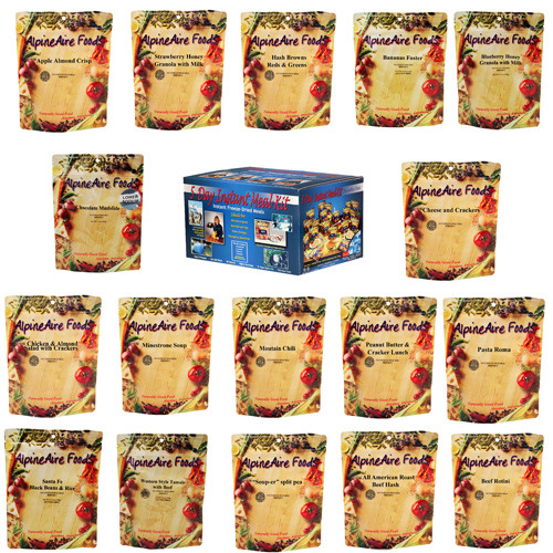Alpine Aire Foods Alpine Aire Foods 5 Day Meal Kit (17 Pouches) 86512