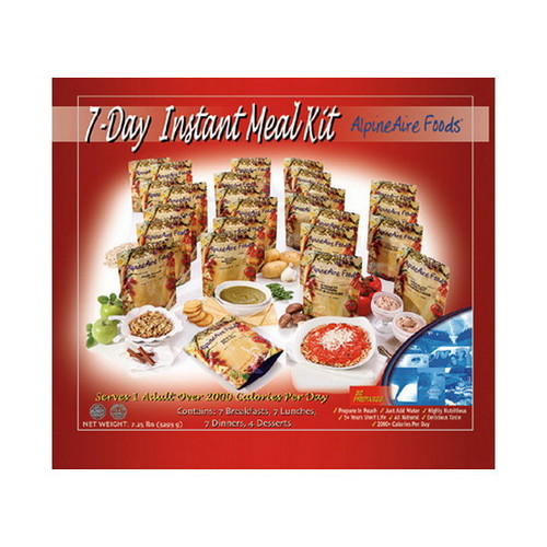 Alpine Aire Foods 7 Day Meal Kit (25 Pouches)