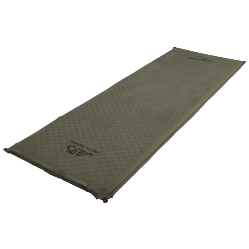 Alps Mountaineering Alps Mountaineering Comfort Series Air Pad Long, Moss 7250003