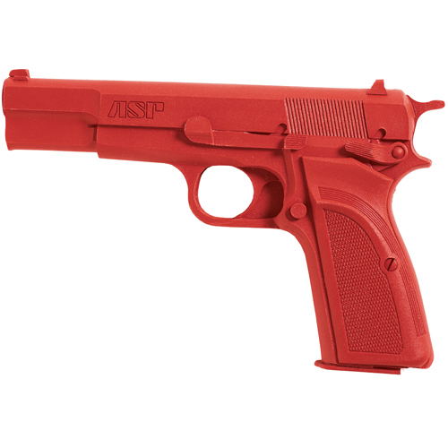 ASP ASP Red Training Gun Browng Hi-Power 07314