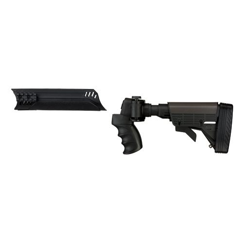 Advanced Technology Intl. ATI Tactical Shotgun Folding Stock Collapsible, Side Folding, w/Forend, Mossberg 500 A.1.10.1130