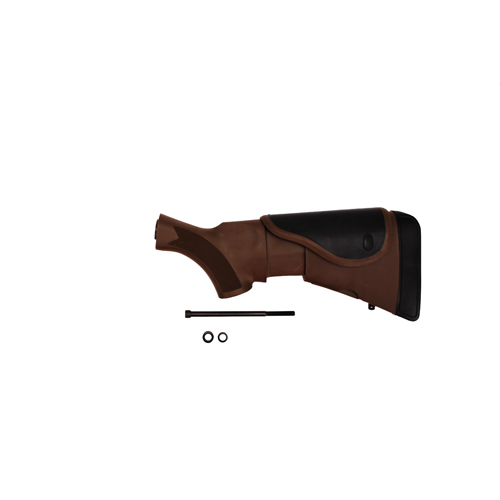 Advanced Technology Intl. ATI Akita Adjustable Stock with CR/SRS, Dark Earth Brown Mossberg A.1.30.1251