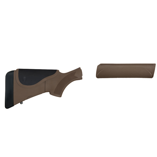 Advanced Technology Intl. Akita Adjustable Stock/Forend with Neoprene/CR/SRS, Dark Earth Brown Mossberg