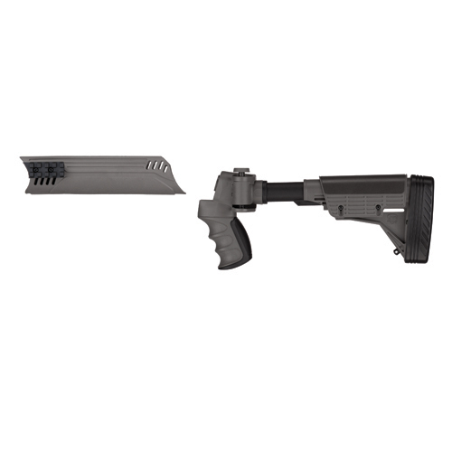 Advanced Technology Intl. ATI Tactical Shotgun Non-Adjustable Side Folding Stock w/SRS, Destroyer Gray Forend A.1.40.1003